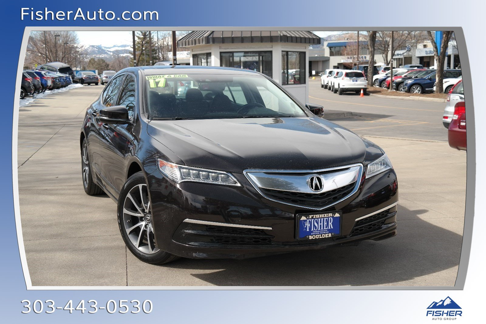 Pre-Owned 2017 Acura TLX SH-AWD V6 w/Technology Pkg