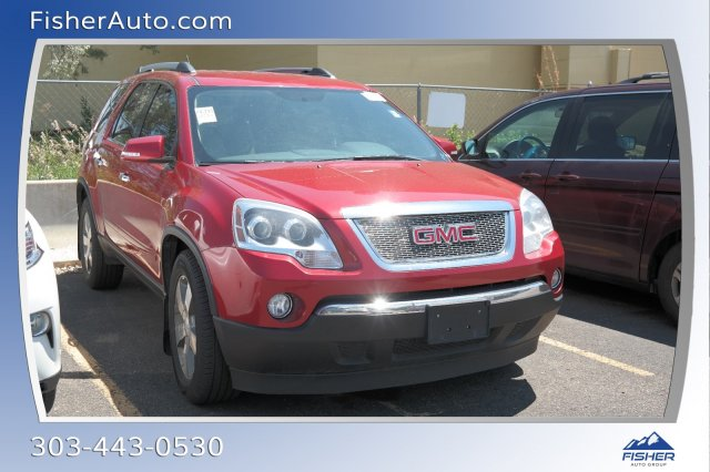 Pre-Owned 2012 GMC Acadia AWD 4dr SLT1
