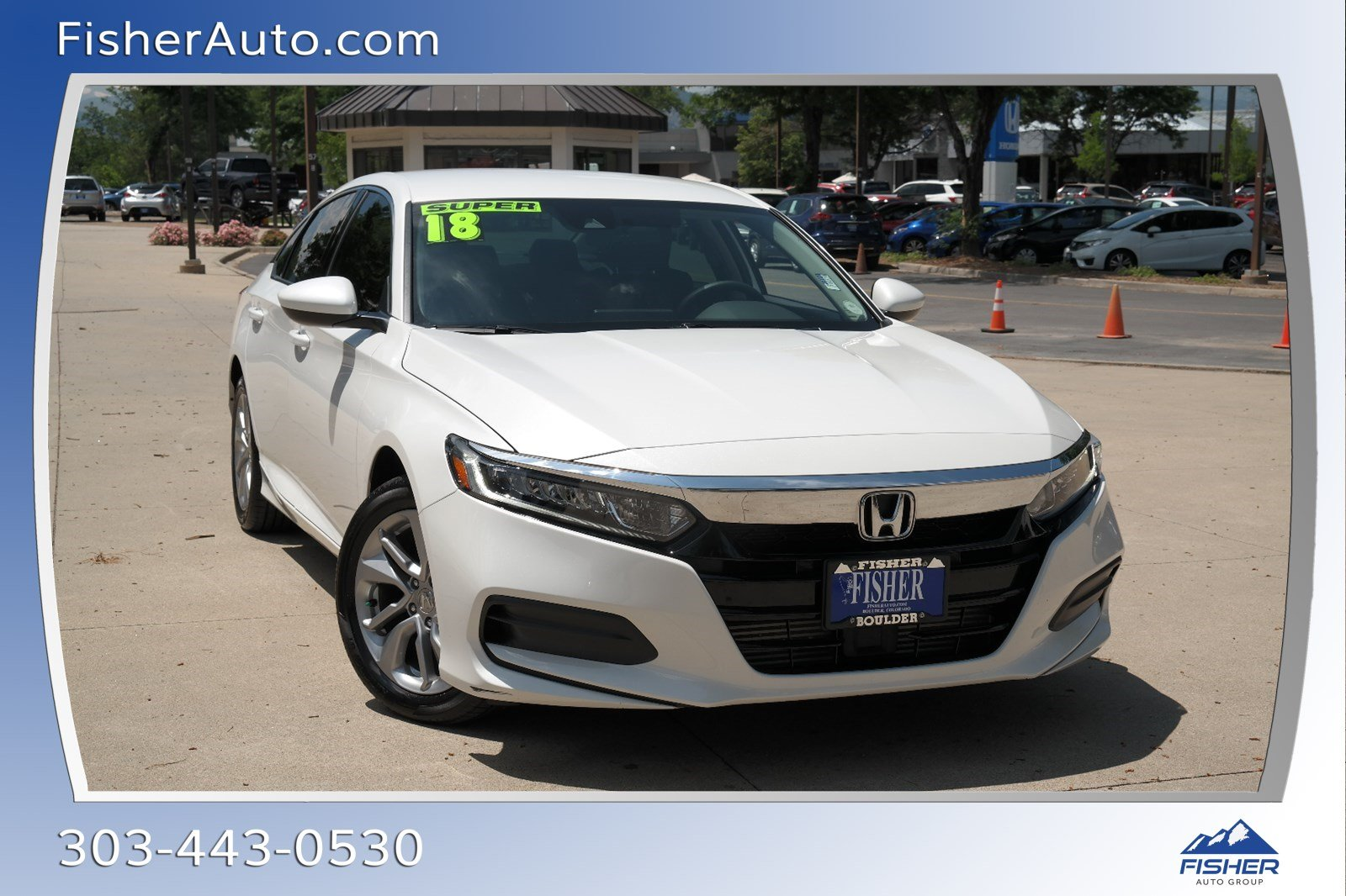 Pre-Owned 2018 Honda Accord LX 1.5T CVT