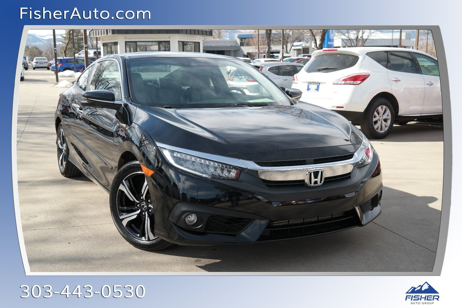 Pre-Owned 2018 Honda Civic Touring CVT