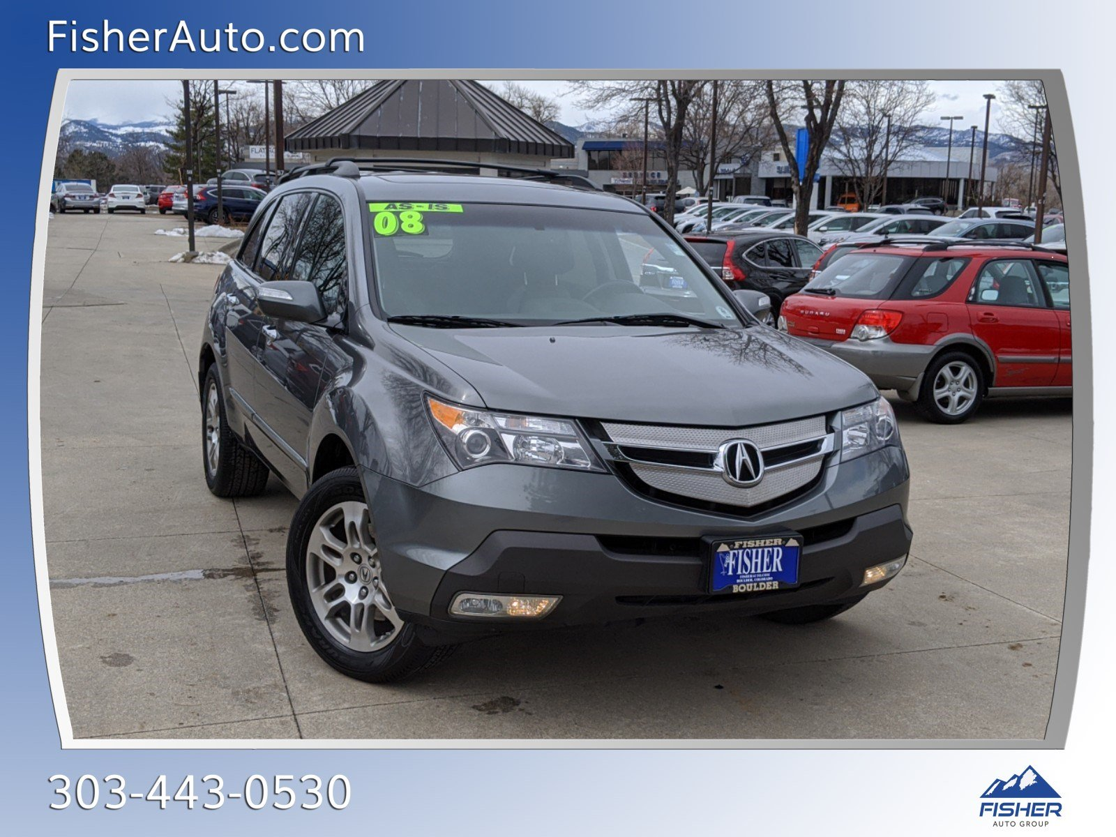 Pre-Owned 2008 Acura MDX 4WD 4dr Tech/Entertainment Pkg