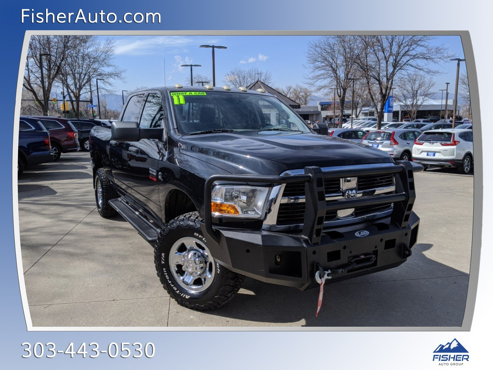Pre-Owned 2011 Ram 2500 4WD Crew Cab 149 ST
