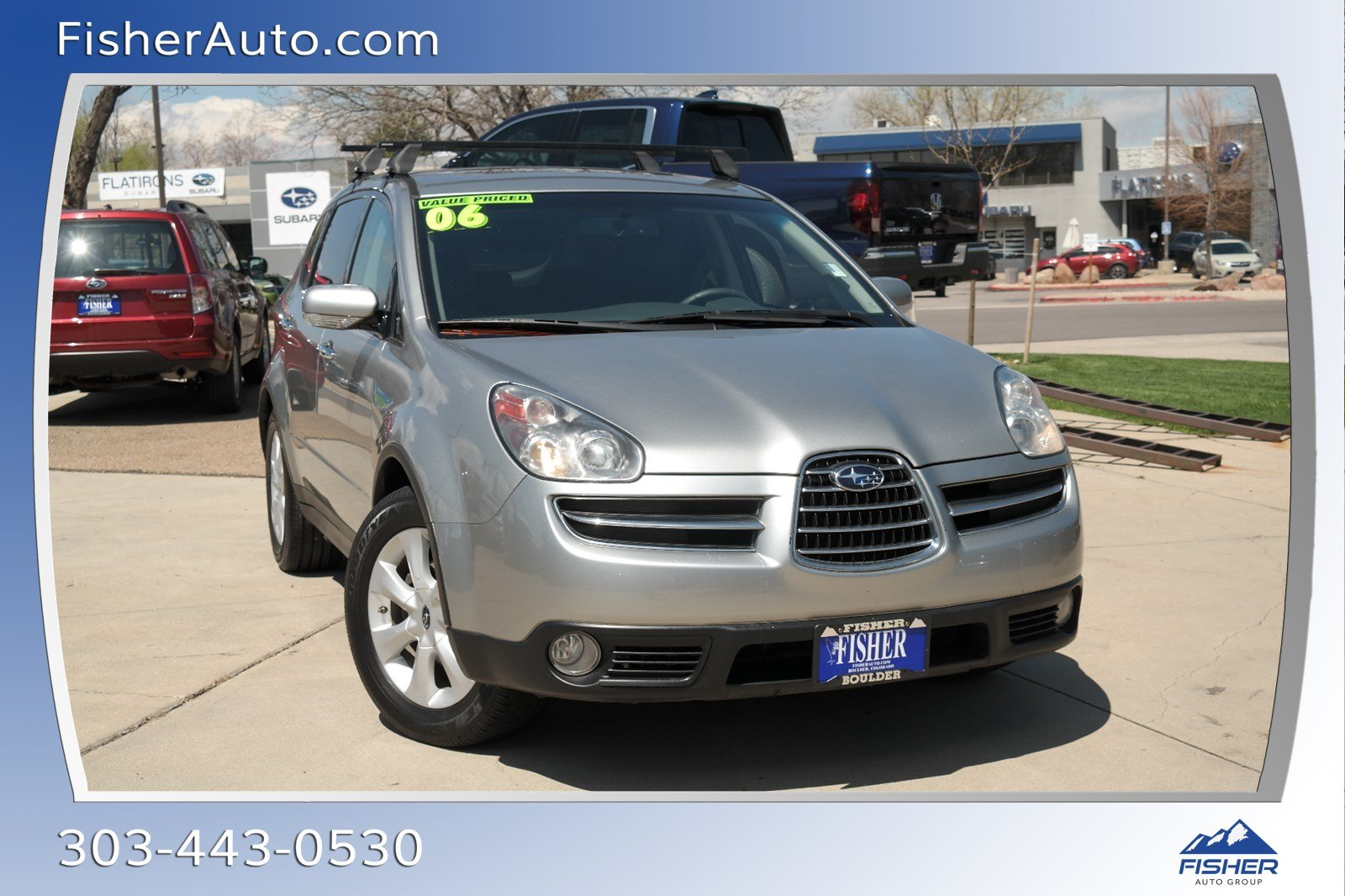 Pre-Owned 2006 Subaru B9 Tribeca 5-Pass Ltd Gray Int