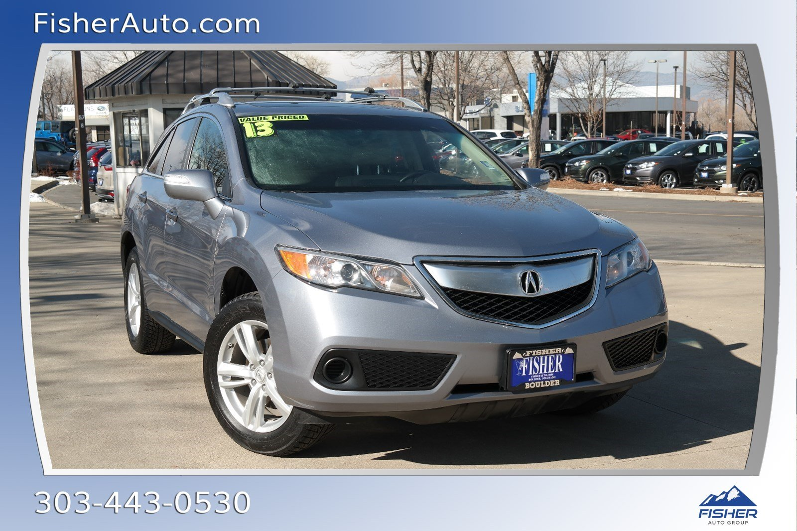Pre-Owned 2013 Acura RDX AWD 4dr