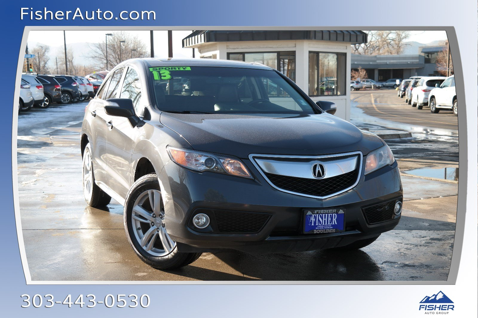 Pre-Owned 2013 Acura RDX AWD 4dr Tech Pkg