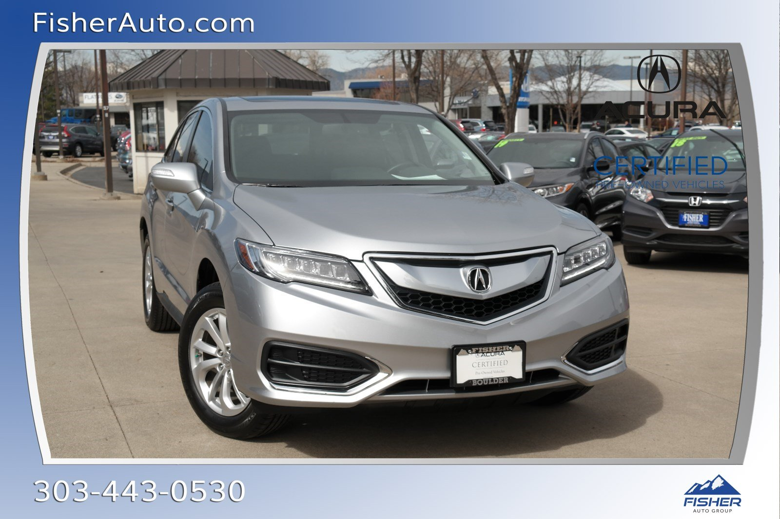 Pre Owned 2017 Acura Rdx Awd W Technology Pkg