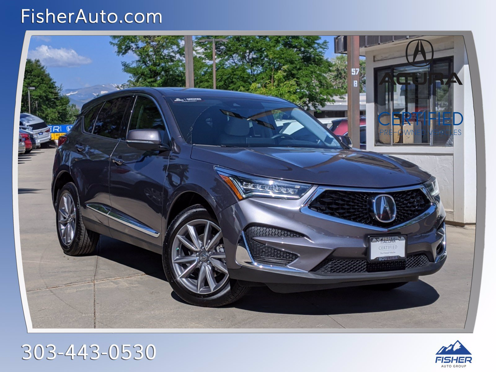 Pre-Owned 2020 Acura RDX SH-AWD w/Technology Pkg