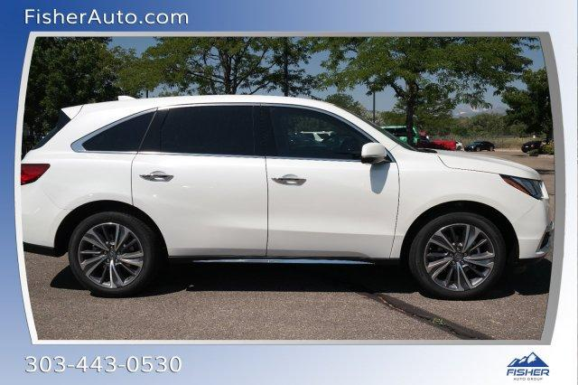 New Acura MDX SHAWD With Technology Package Sport Utility In - 2018 acura mdx wheels