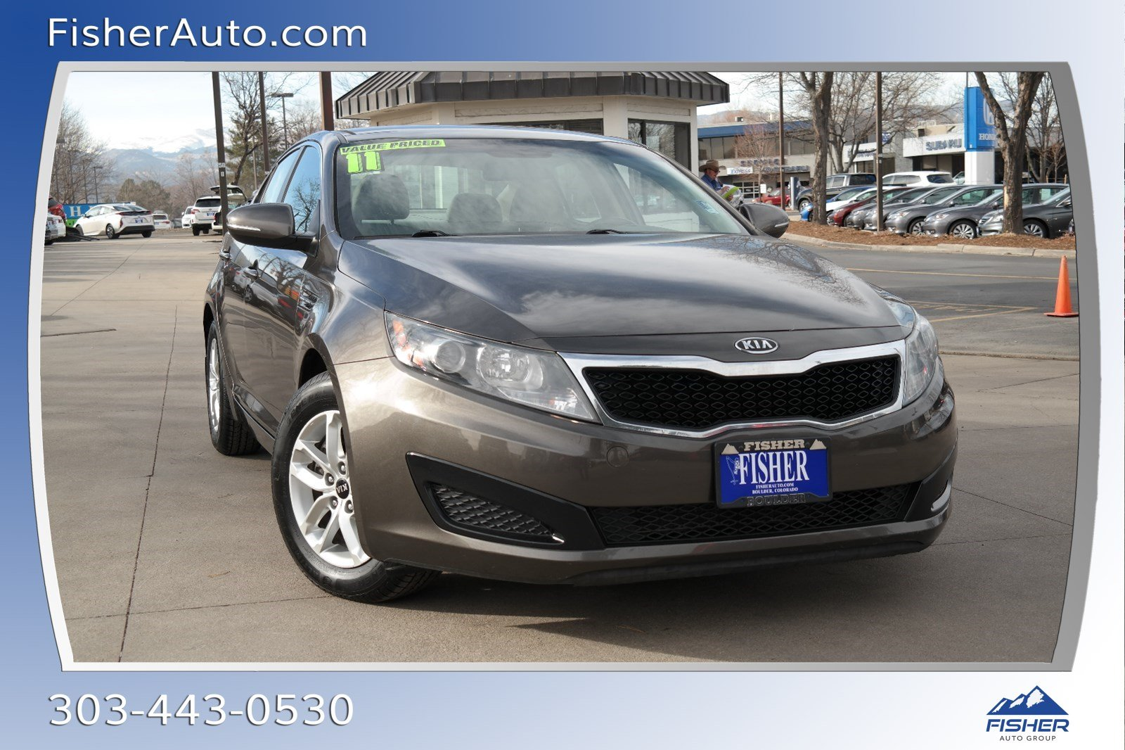 Pre-Owned 2011 Kia Optima 4dr Sdn 2.4L Auto LX