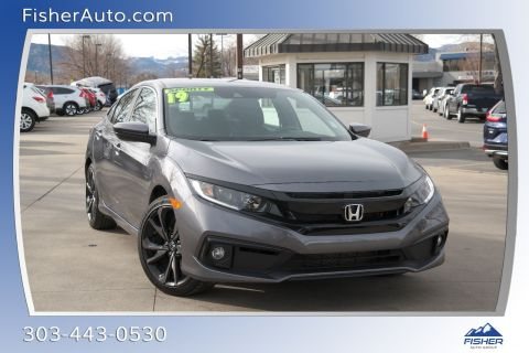 Pre-Owned 2019 Honda Civic Sport Manual