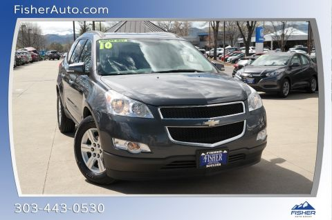 Pre-Owned 2010 Chevrolet Traverse AWD 4dr LT w/2LT