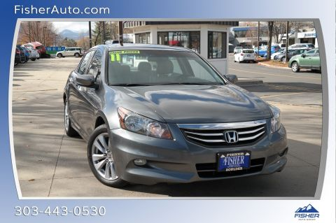 Pre-Owned 2011 Honda Accord 4dr V6 Auto EX-L w/Navi