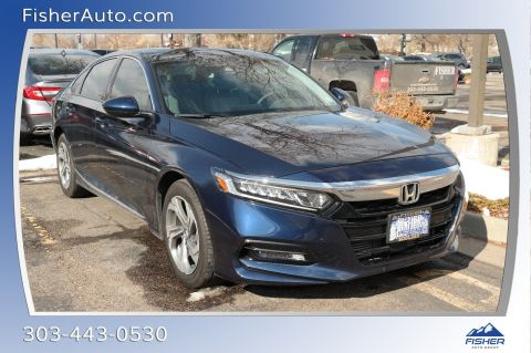 Pre-Owned 2018 Honda Accord EX 1.5T CVT