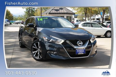 Pre-Owned 2016 Nissan Maxima 4dr Sdn 3.5 SL