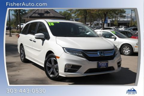 Pre-Owned 2018 Honda Odyssey Touring Auto