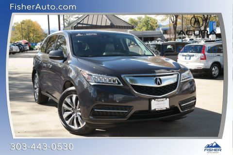 Pre-Owned 2016 Acura MDX SH-AWD 4dr w/Tech/Entertainment/Acu