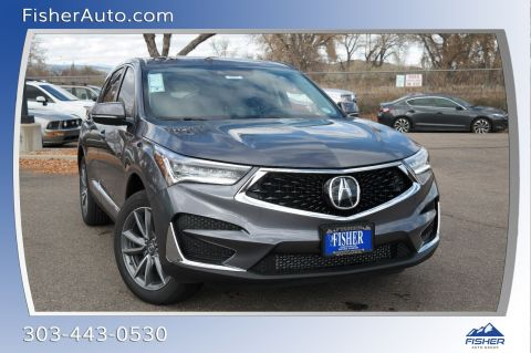 New 2019 Acura Rdx Sh Awd Advance Sport Utility In Boulder 194682