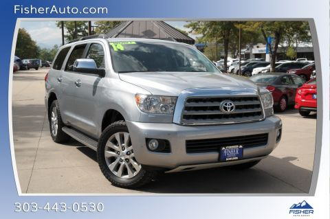 Pre-Owned 2014 Toyota Sequoia 4WD 5.7L FFV Limited