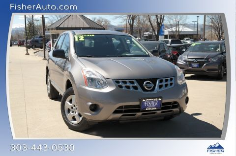 Pre-Owned 2012 Nissan Rogue AWD 4dr S